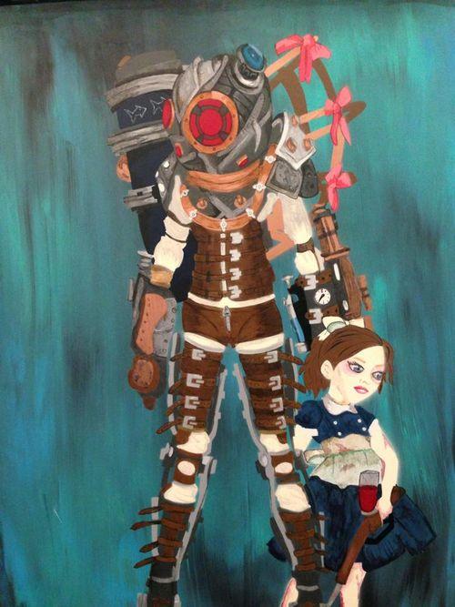 Bioshock Painting
